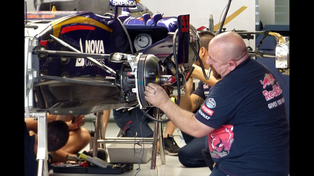 Toro Rosso  Formel 1 - GP Brasilien- 13. November 2015
