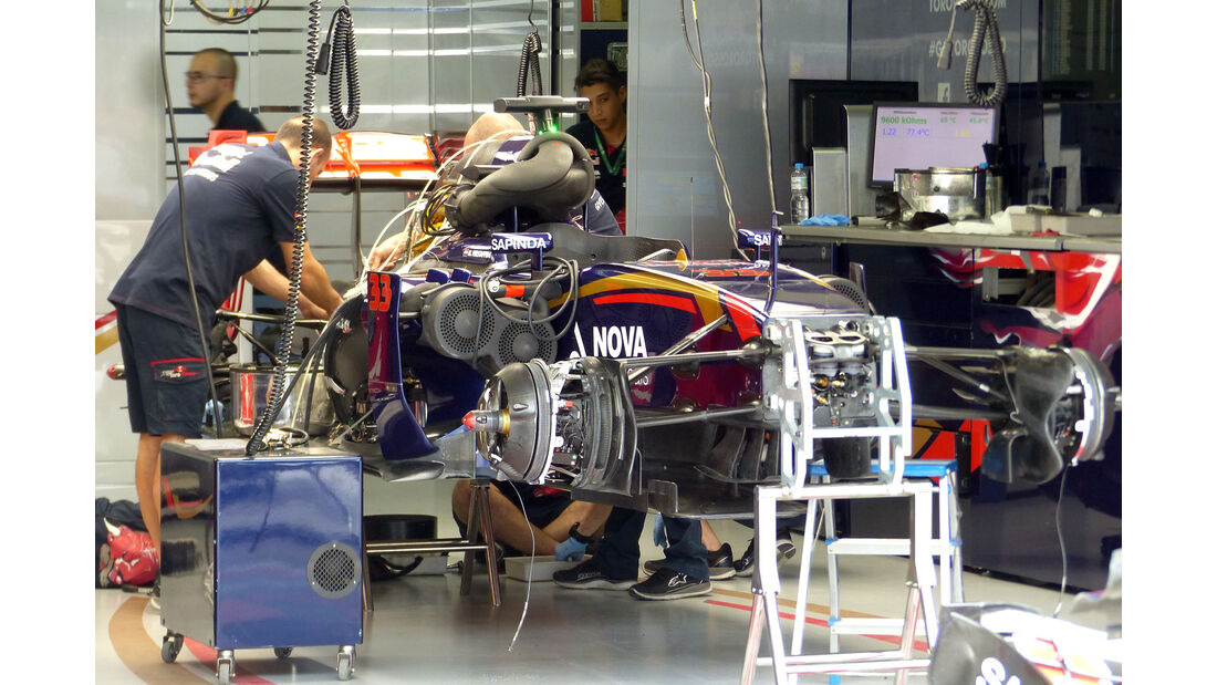 Toro Rosso - Formel 1 - GP Brasilien- 13. November 2015