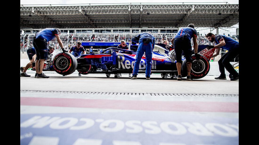 Toro Rosso - Formel 1 - GP Brasilien 2018