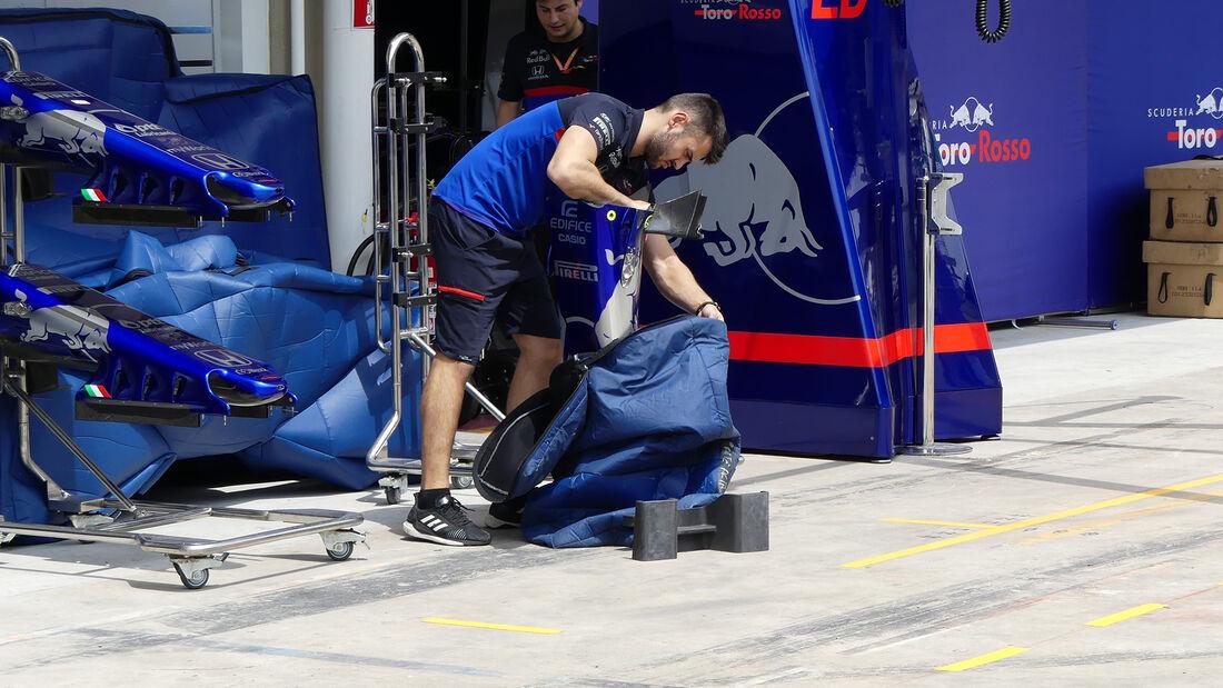 Toro Rosso - Formel 1 - GP Brasilien - Sao Paulo - 13. November 2019