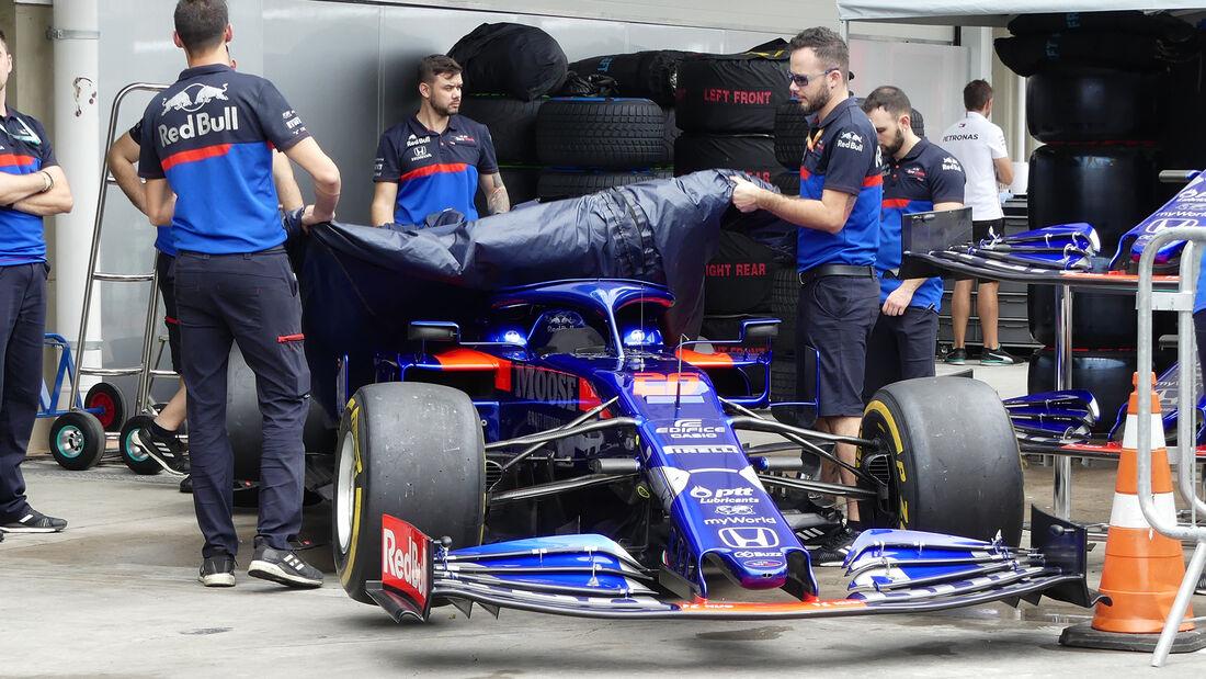 Toro Rosso - Formel 1 - GP Brasilien - Sao Paulo - 14. November 2019