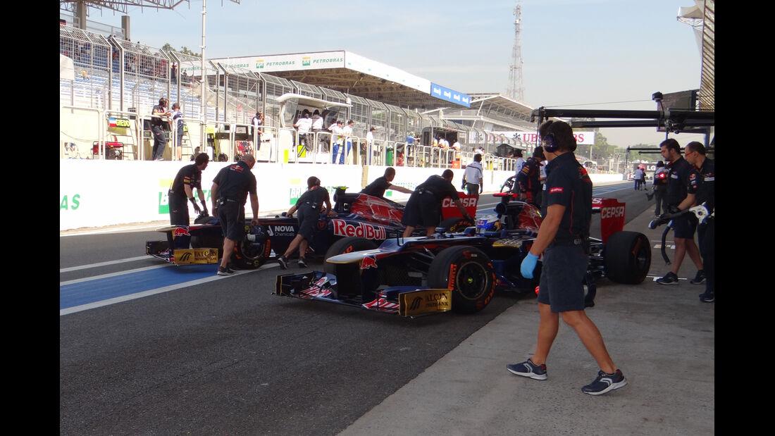 Toro Rosso - Formel 1 - GP Brasilien - Sao Paulo - 23. November 2012