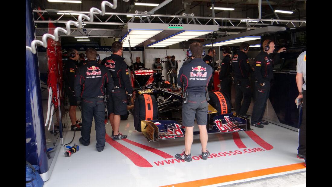 Toro Rosso - Formel 1 - GP China - 12. April 2013