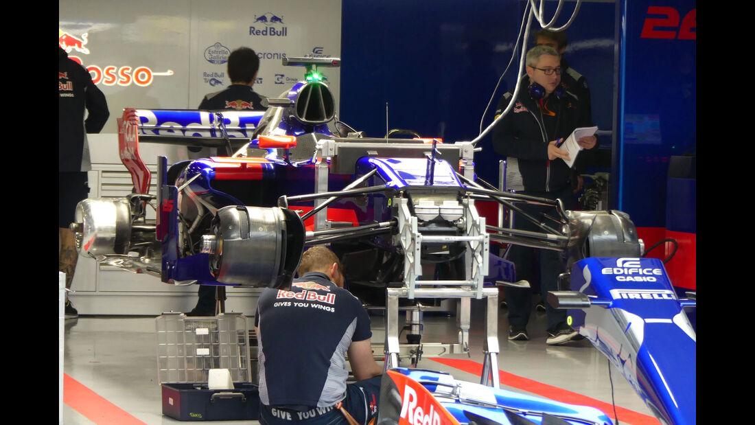 Toro Rosso - Formel 1 - GP China 2017 - Shanghai - 7.4.2017