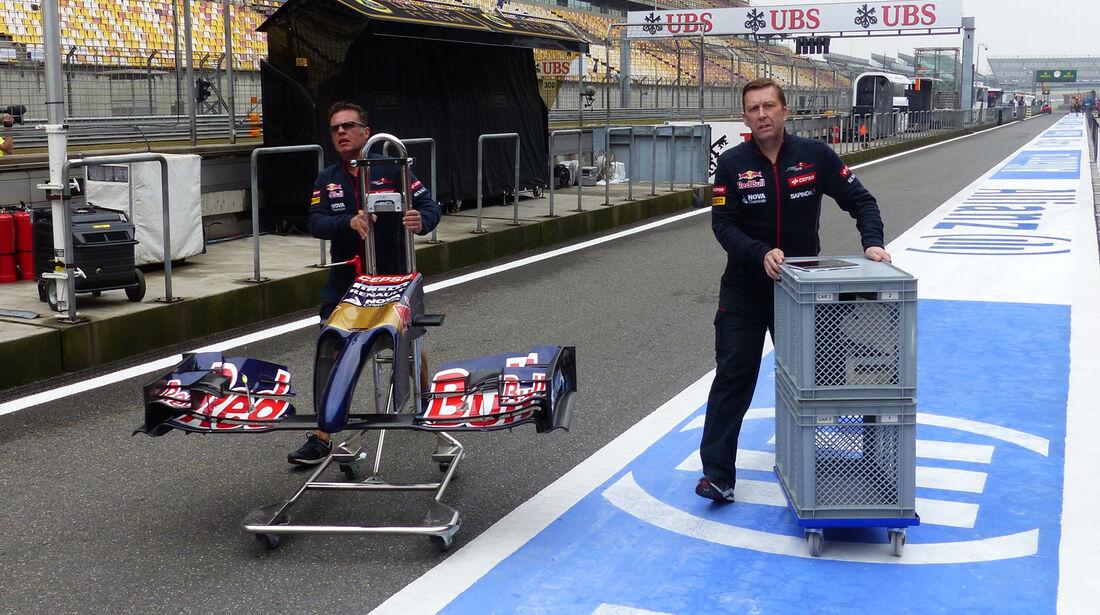 Toro Rosso - Formel 1 - GP China - Shanghai - 16. April 2014