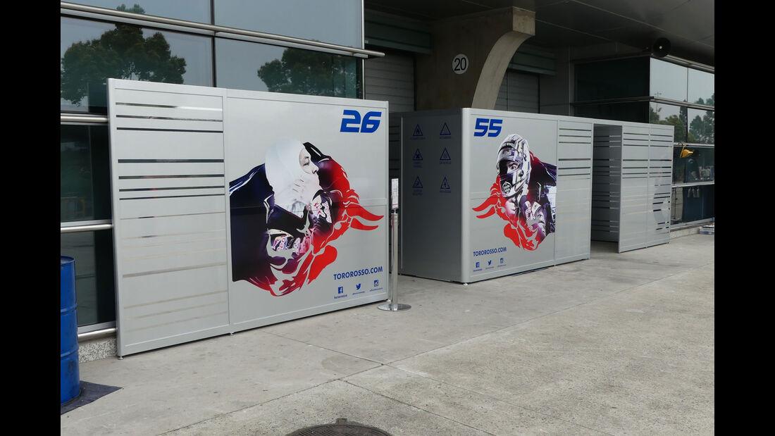 Toro Rosso - Formel 1 - GP China - Shanghai - 6.4.2017