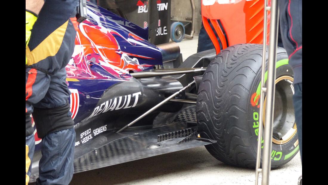 Toro Rosso - Formel 1 - GP China - Shanghai - 9. April 2015
