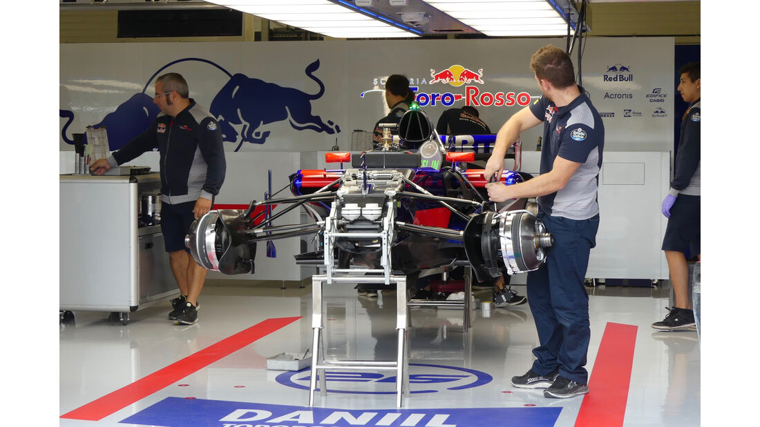 Toro Rosso - Formel 1 - GP England - 13. Juli 2017
