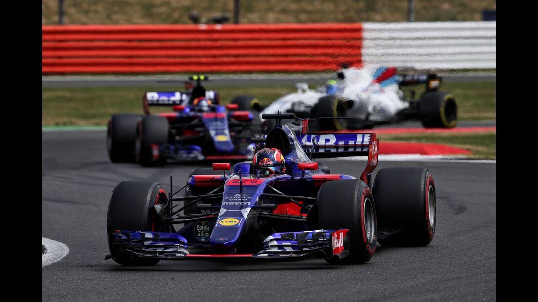 Toro Rosso - Formel 1 - GP England - 16. Juli 2017