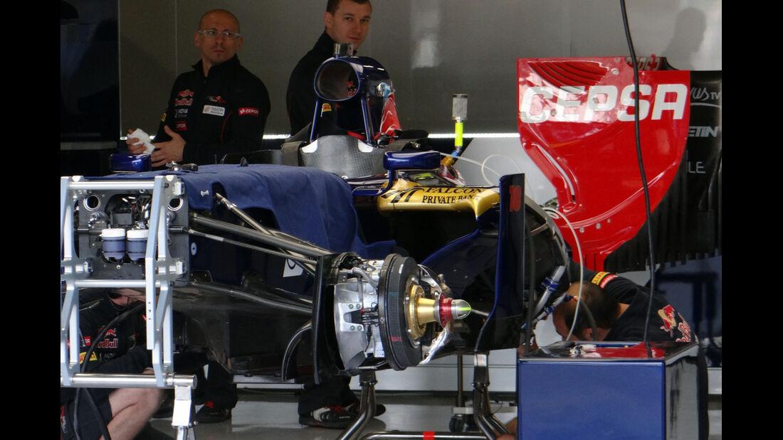 Toro Rosso - Formel 1 - GP England - 27. Juni 2013