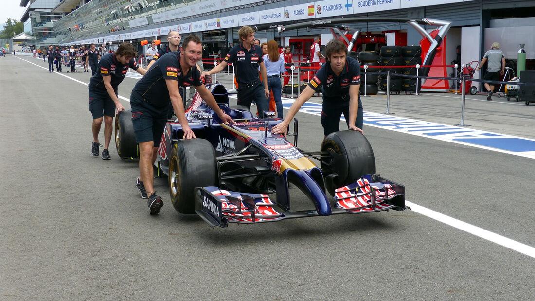 Toro Rosso - Formel 1 - GP Italien - 4. September 2014