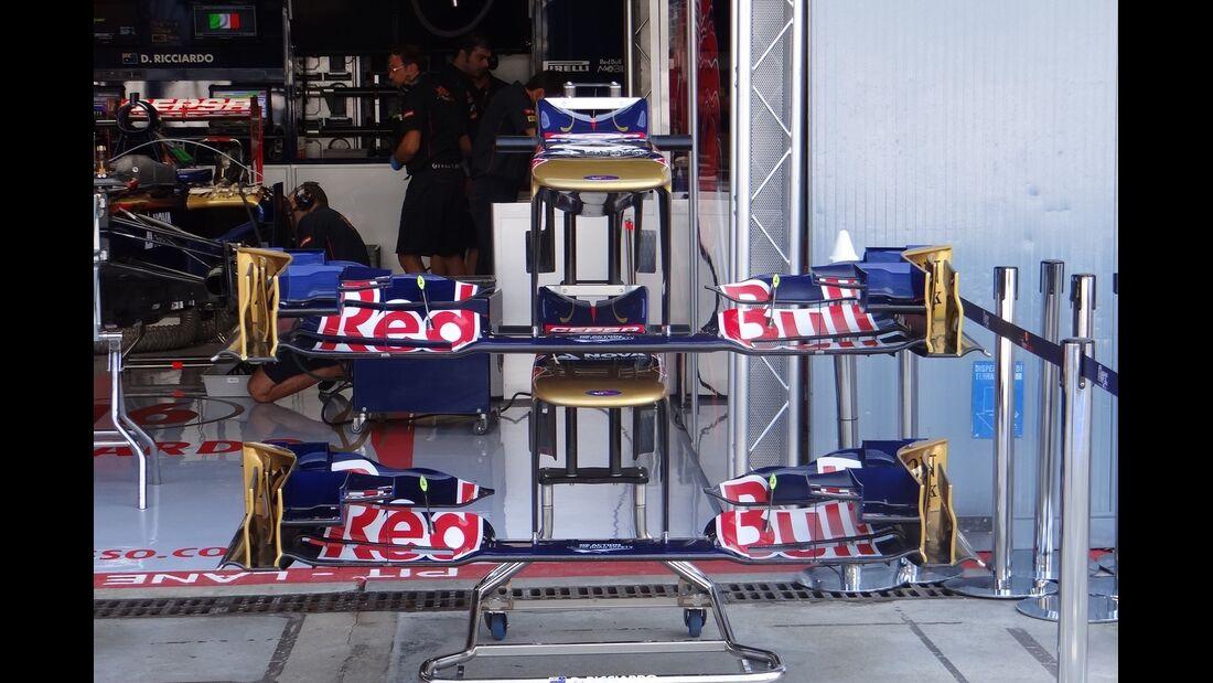 Toro Rosso - Formel 1 - GP Italien - 6. September 2012
