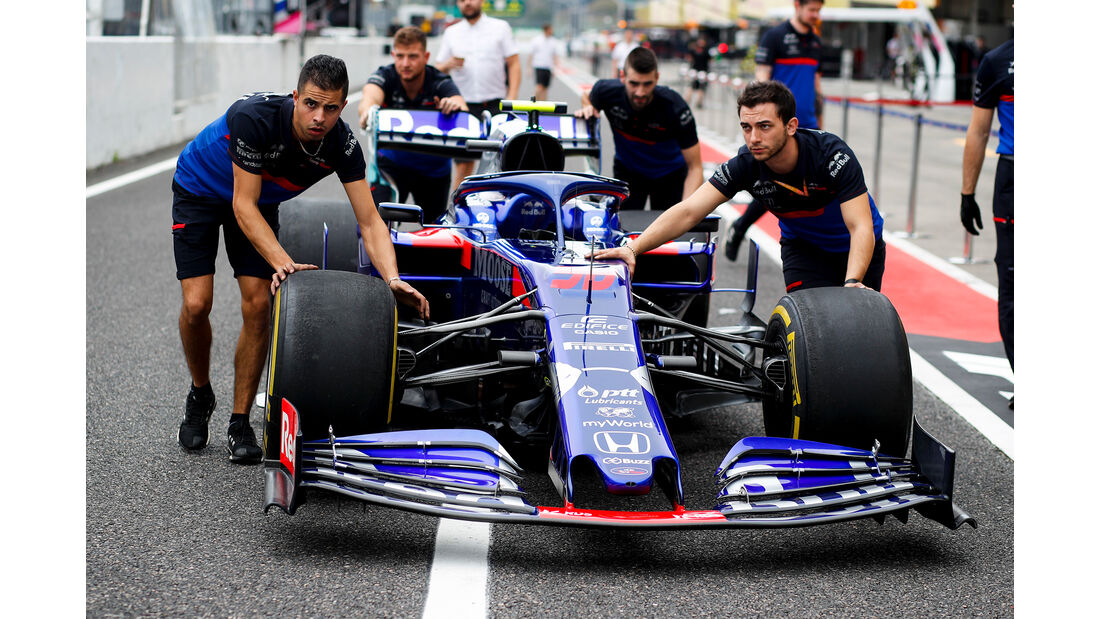 Toro Rosso - Formel 1 - GP Japan - Suzuka - 10. Oktober 2019