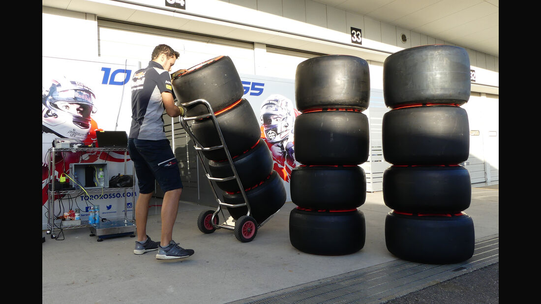 Toro Rosso - Formel 1 - GP Japan - Suzuka - 4. Oktober 2017
