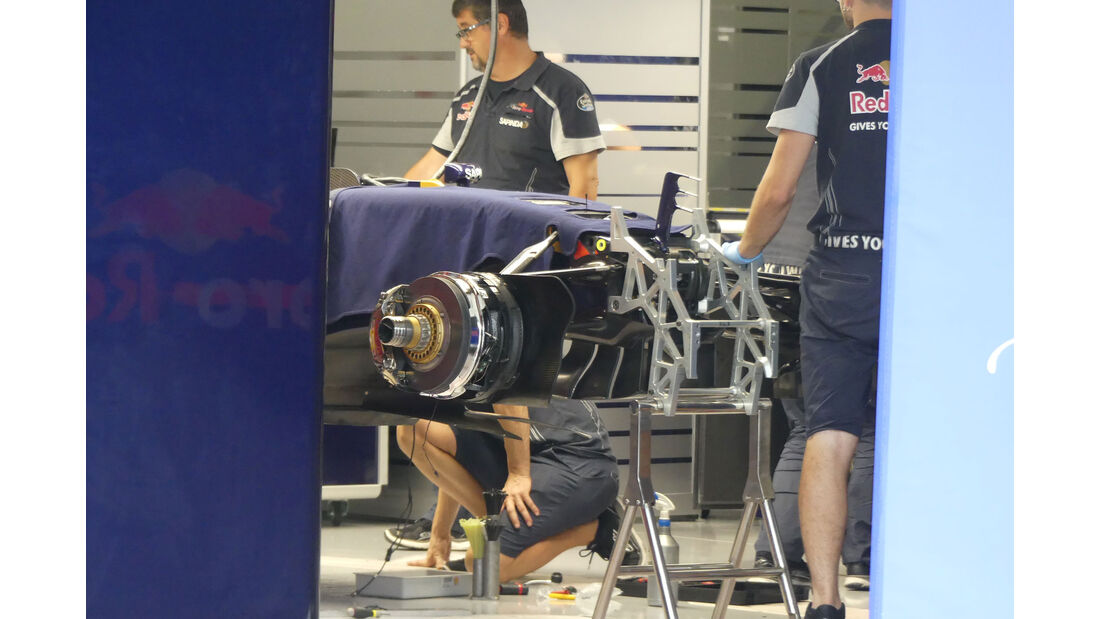 Toro Rosso - Formel 1 - GP Japan - Suzuka - Mittwoch - 5.10.2016
