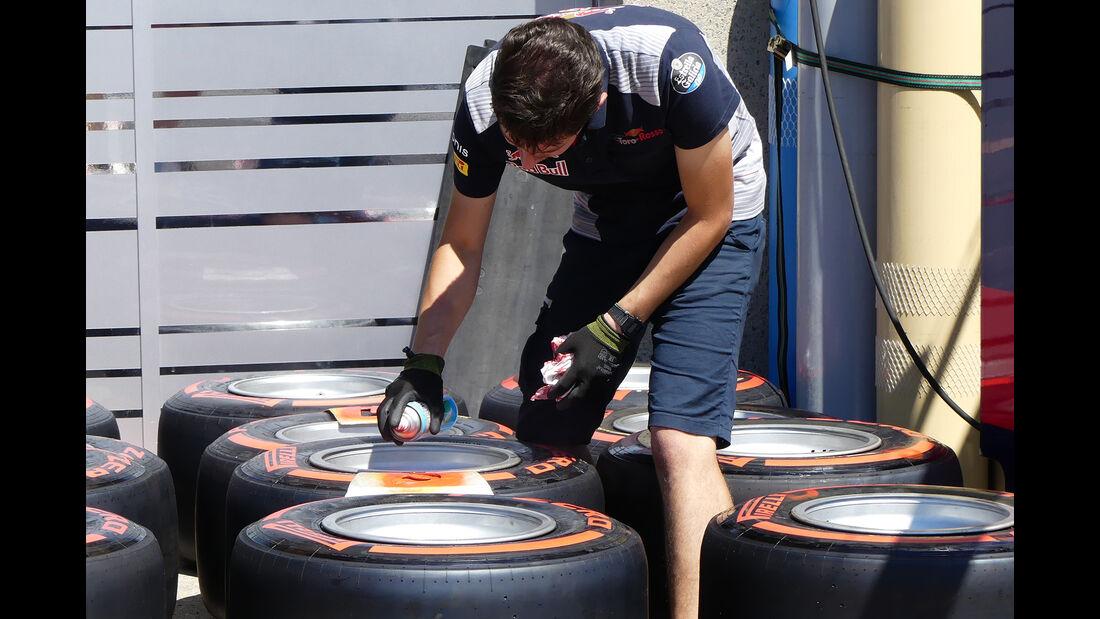 Toro Rosso - Formel 1 - GP Kanada  - Montreal - 7. Juni 2017