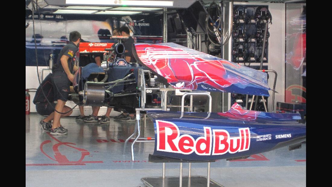 Toro Rosso - Formel 1 - GP Korea - 13. Oktober 2011