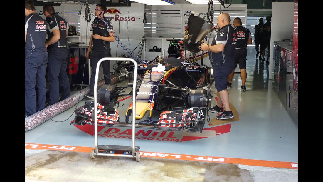 Toro Rosso -  Formel 1 - GP Malaysia - Freitag - 30.9.2016