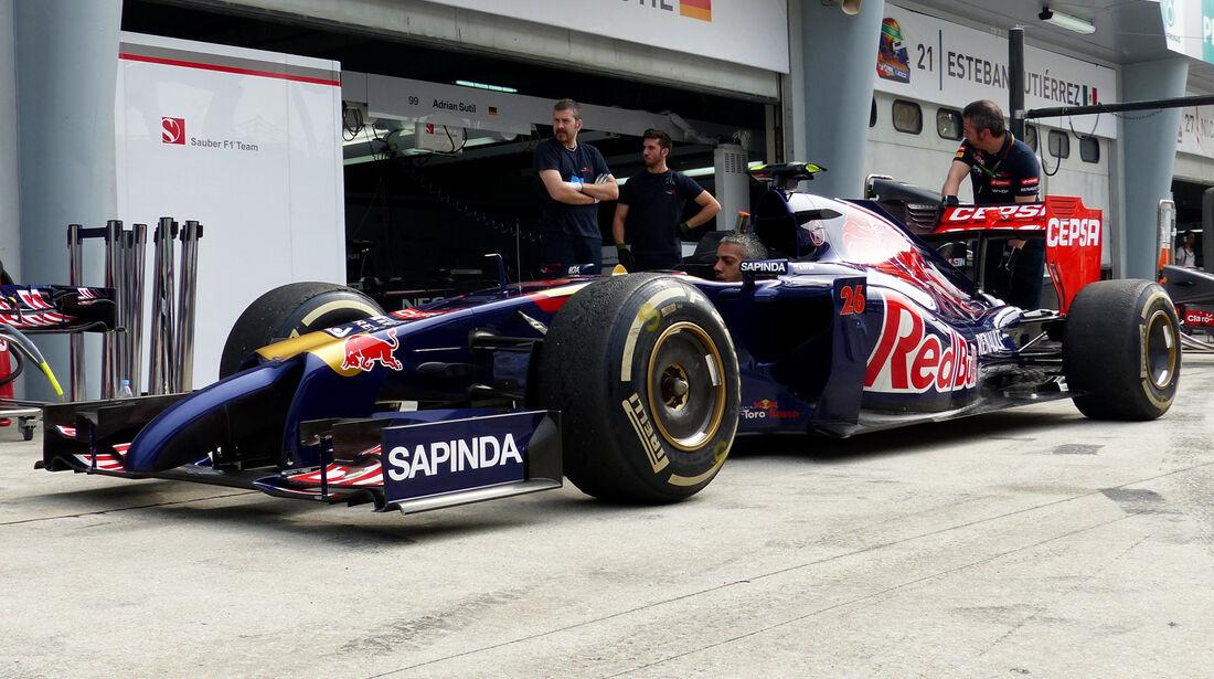 Toro Rosso - Formel 1 - GP Malaysia - Sepang - 29. März 2014