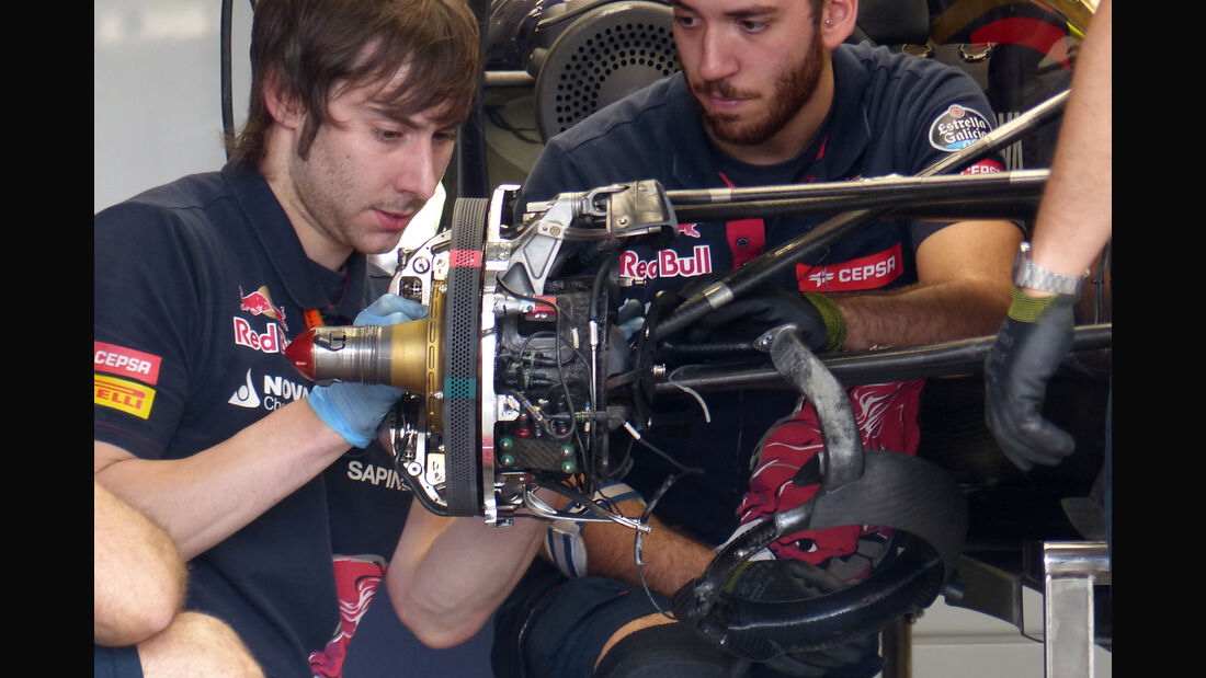 Toro Rosso - Formel 1 - GP Mexiko - 30. Oktober 2015