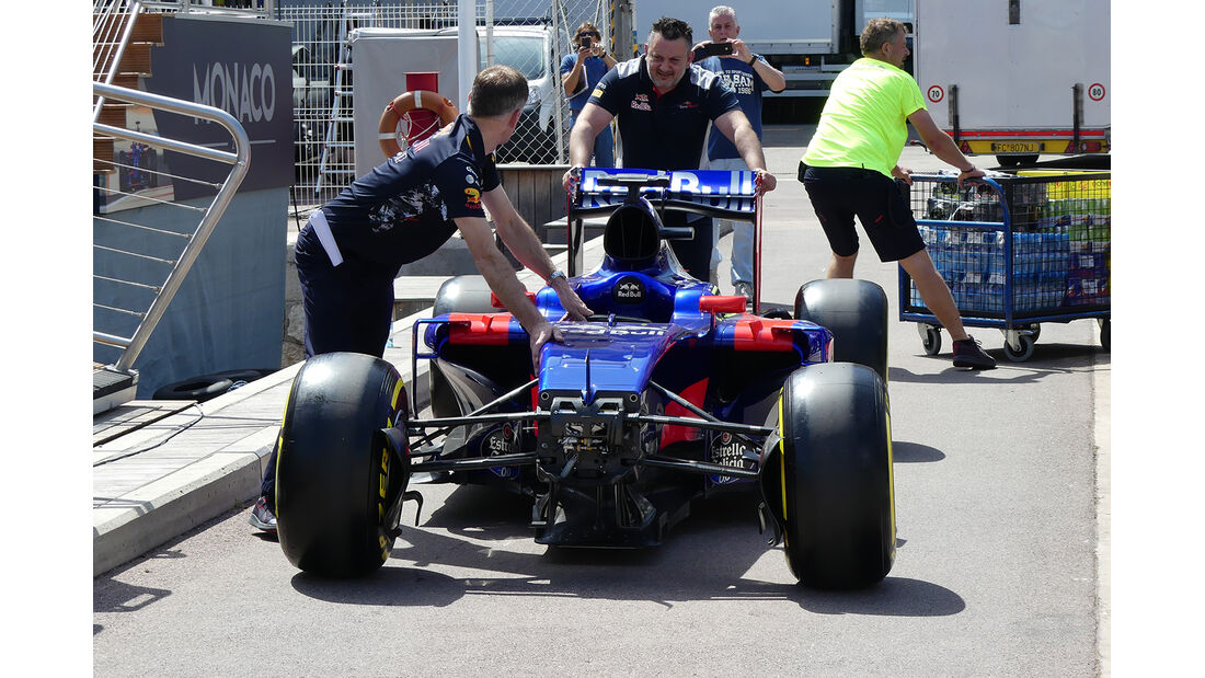 Toro Rosso - Formel 1 - GP Monaco - 23. Mai 2017