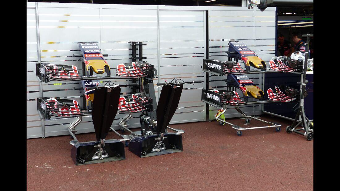 Toro Rosso  - Formel 1 - GP Monaco - Donnerstag - 21. Mai 2015