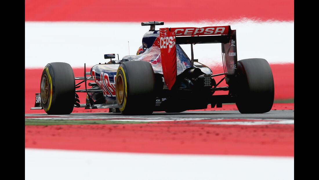 Toro Rosso - Formel 1 -  GP Österreich 2015
