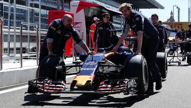 Toro Rosso - Formel 1 - GP Russland - 28. April 2016