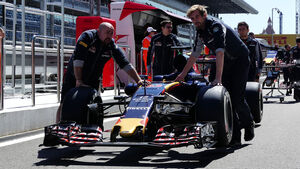 Toro Rosso - Formel 1 - GP Russland - 28. April 2016