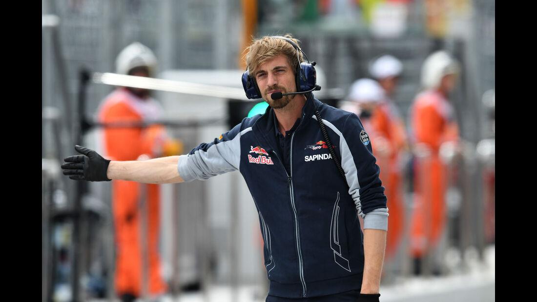 Toro Rosso - Formel 1 - GP Russland - 30. April 2016