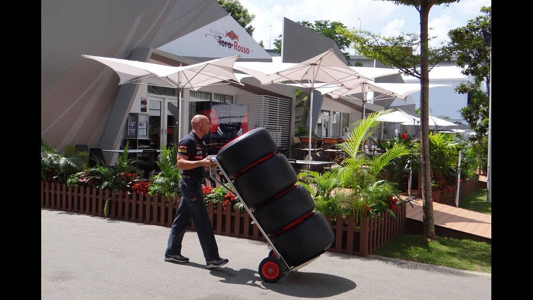 Toro Rosso - Formel 1 - GP Singapur - 19. September 2013