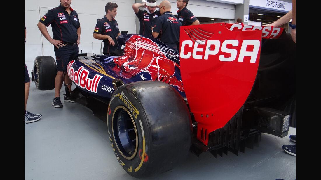 Toro Rosso - Formel 1 - GP Singapur - 20. September 2012