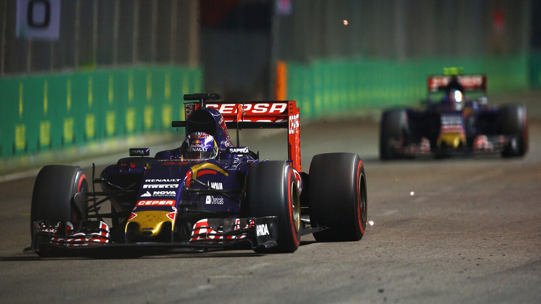 Toro Rosso - Formel 1 - GP Singapur 2015