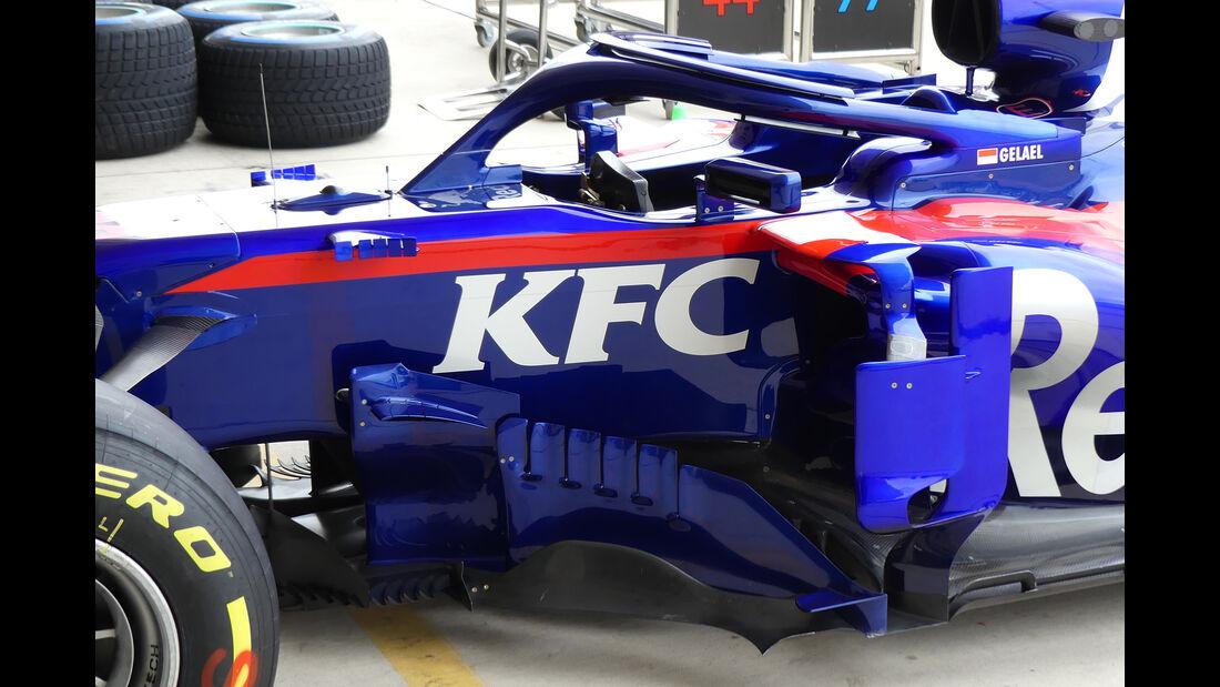 Toro Rosso - Formel 1 - GP USA - Austin - 18. Oktober 2018