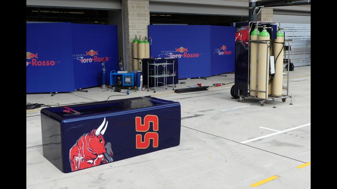 Toro Rosso - Formel 1 - GP USA - Austin - 19. Oktober 2016