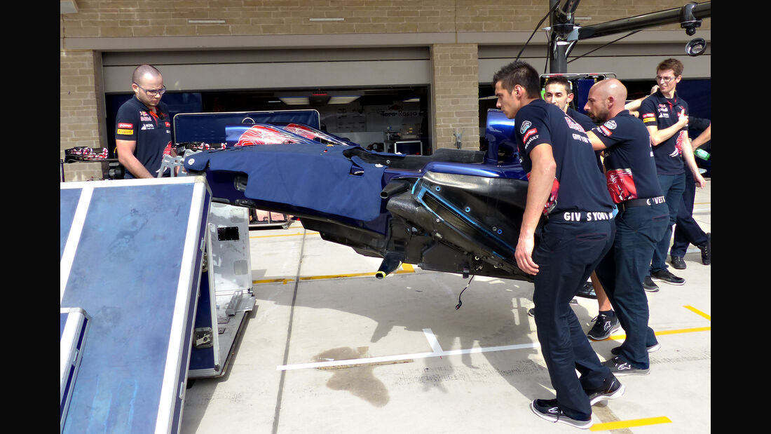 Toro Rosso - Formel 1 - GP USA - Austin - 21. Oktober 2015