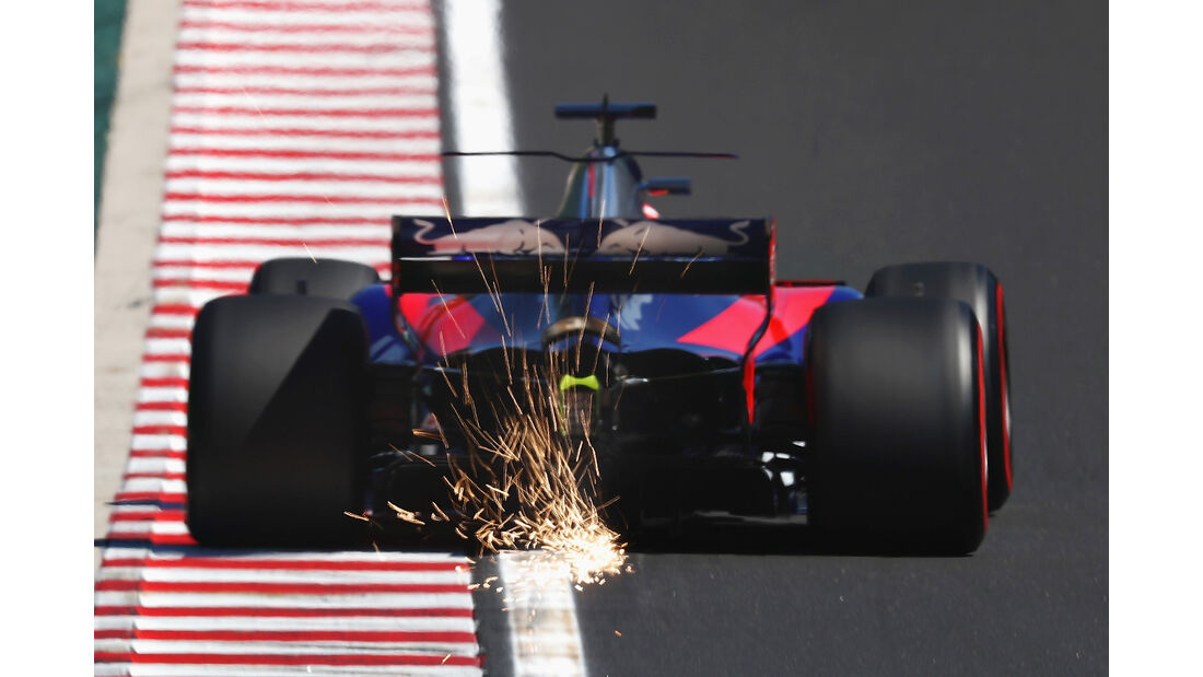 Toro Rosso - Formel 1 - GP Ungarn 2017