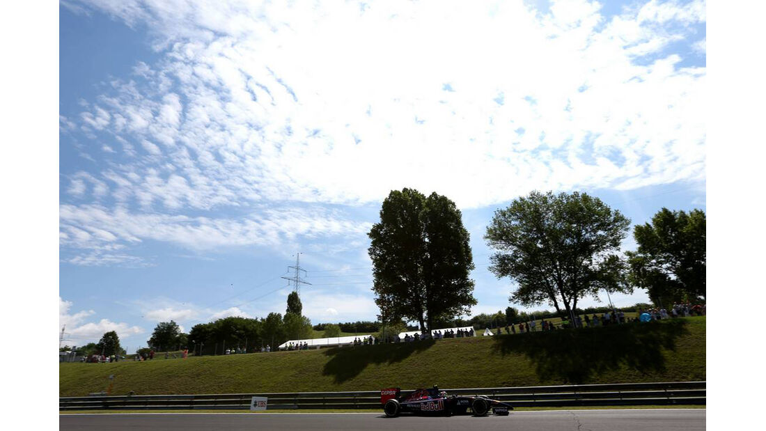 Toro Rosso - Formel 1 - GP Ungarn - 25. Juli 2014