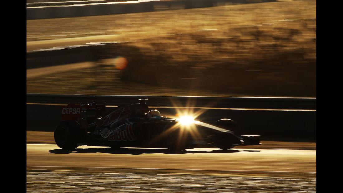 Toro Rosso  - Formel 1 - Jerez-Test 2014