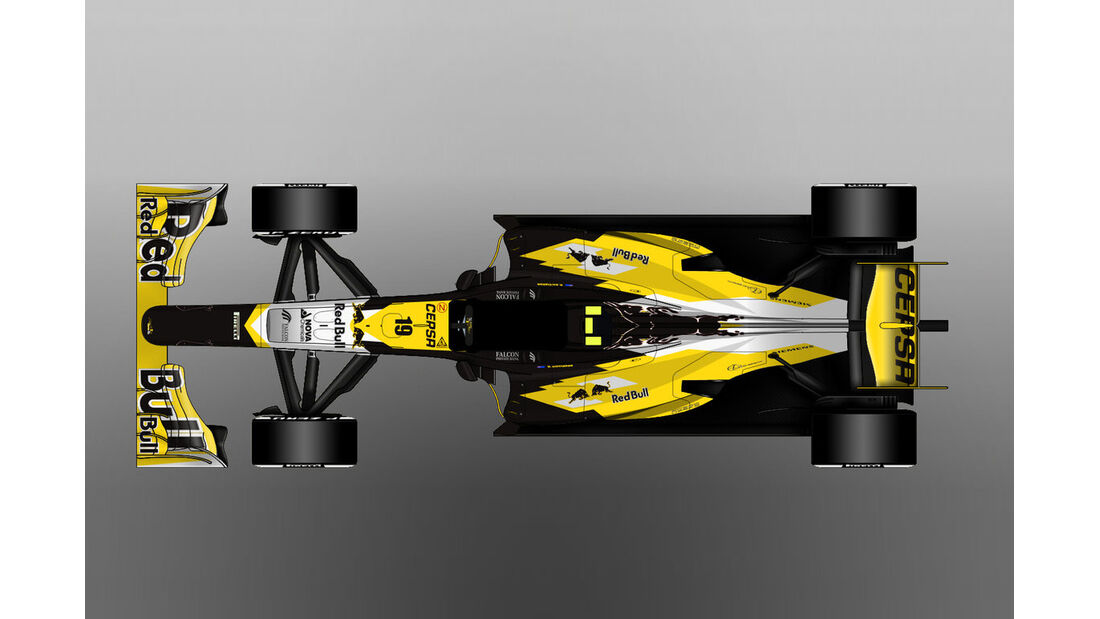 Toro Rosso - Formel 1 - Lackierung - Design-Concept