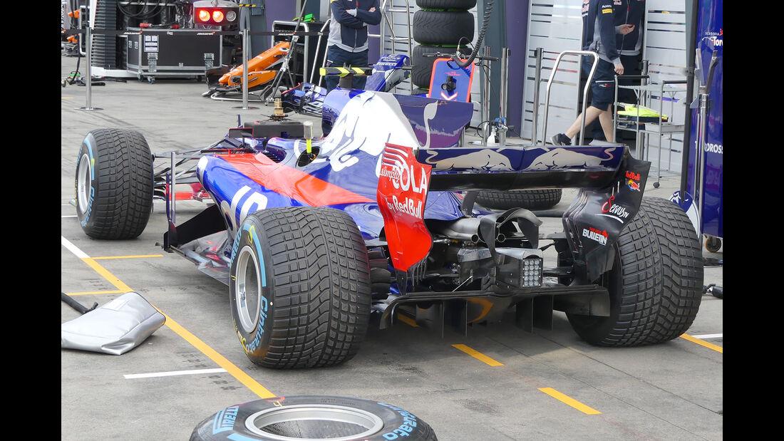Toro Rosso - Formel 1 - Technik - GP Australien 2017