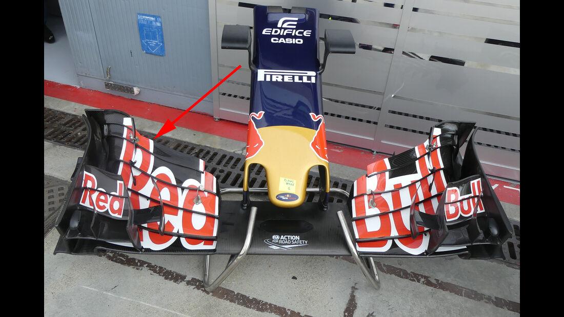 Toro Rosso - Formel 1-Technik - GP Belgien / GP Italien - 2016