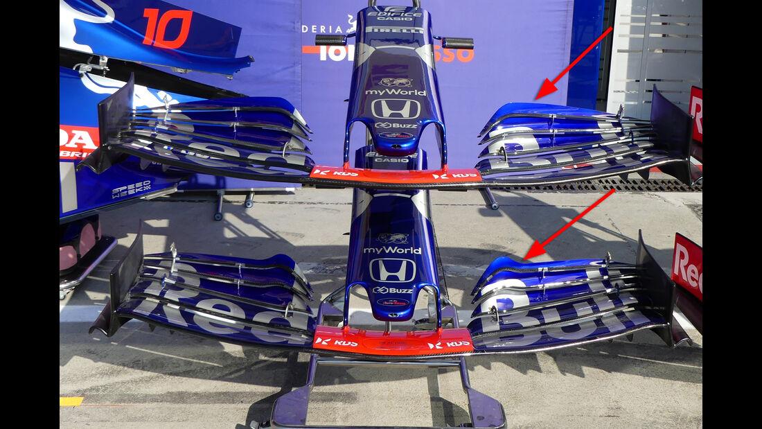 Toro Rosso - Formel 1 -Technik-Updates - 2019