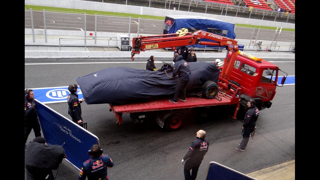 Toro Rosso - Formel 1 - Test - Barcelona - 1. März 2013