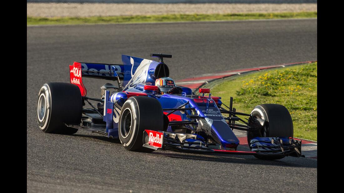 Toro Rosso - Formel 1 - Test - Barcelona - 2017