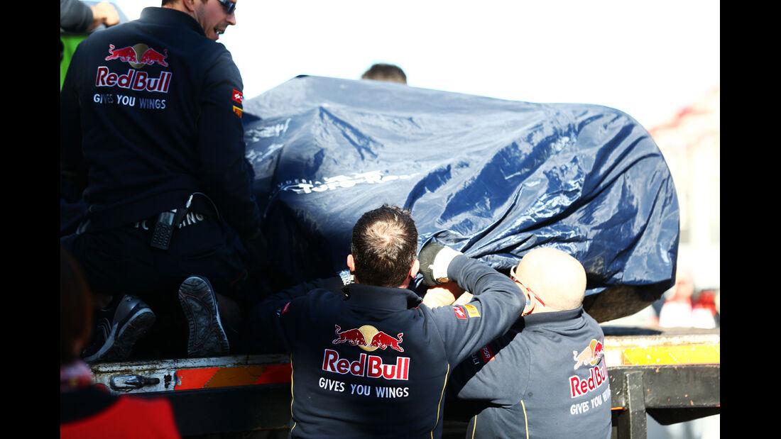 Toro Rosso - Formel 1-Test - Barcelona - 22. Februar 2015