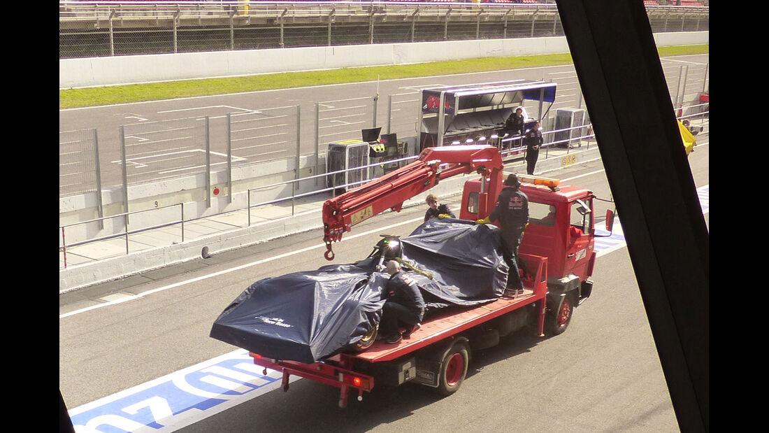 Toro Rosso - Formel 1-Test - Barcelona - 26. Februar 2015