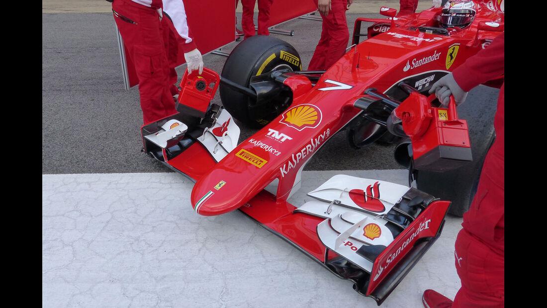 Toro Rosso  Formel 1-Test - Barcelona - 26. Februar 2015