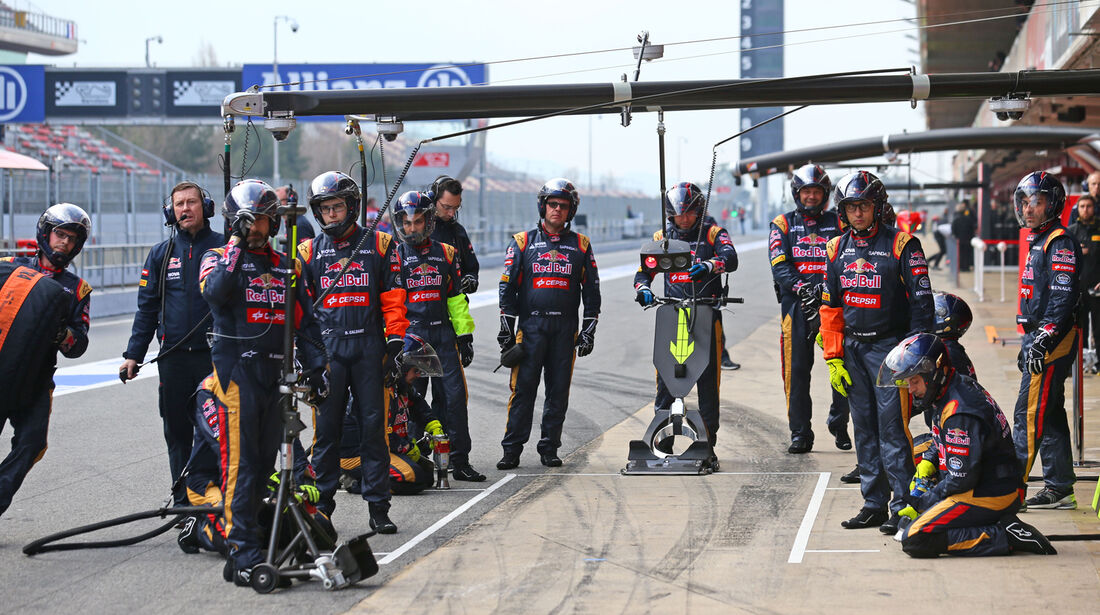 Toro Rosso - Formel 1-Test - Barcelona - 27. Februar 2015