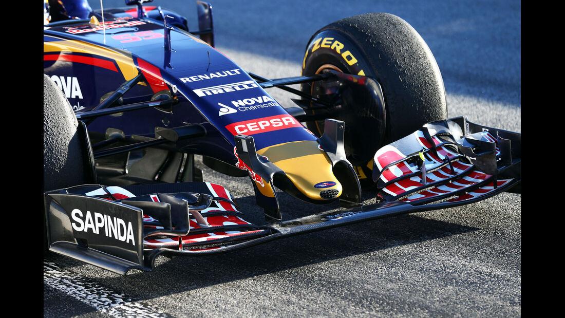 Toro Rosso - Formel 1-Test - Barcelona - 28. Februar 2015
